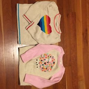 3T sweaters baby Gap and Cat & Jack
